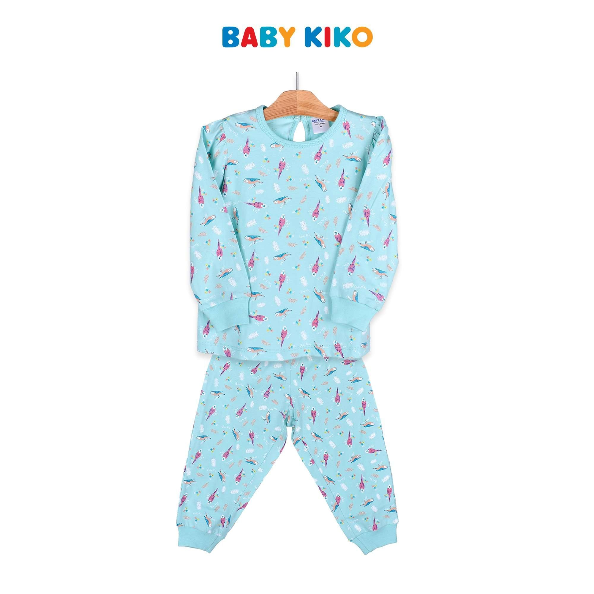 Baby KIKO Toddler Girl Long Sleeve Long Pant Suit - Green 325145-431 : Buy Baby KIKO online at CMG.MY