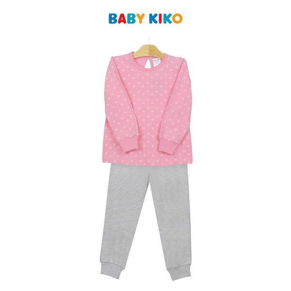 Baby KIKO Toddler Girl Long Sleeve Long Pants Suit 325147-432 : Buy Baby KIKO online at CMG.MY
