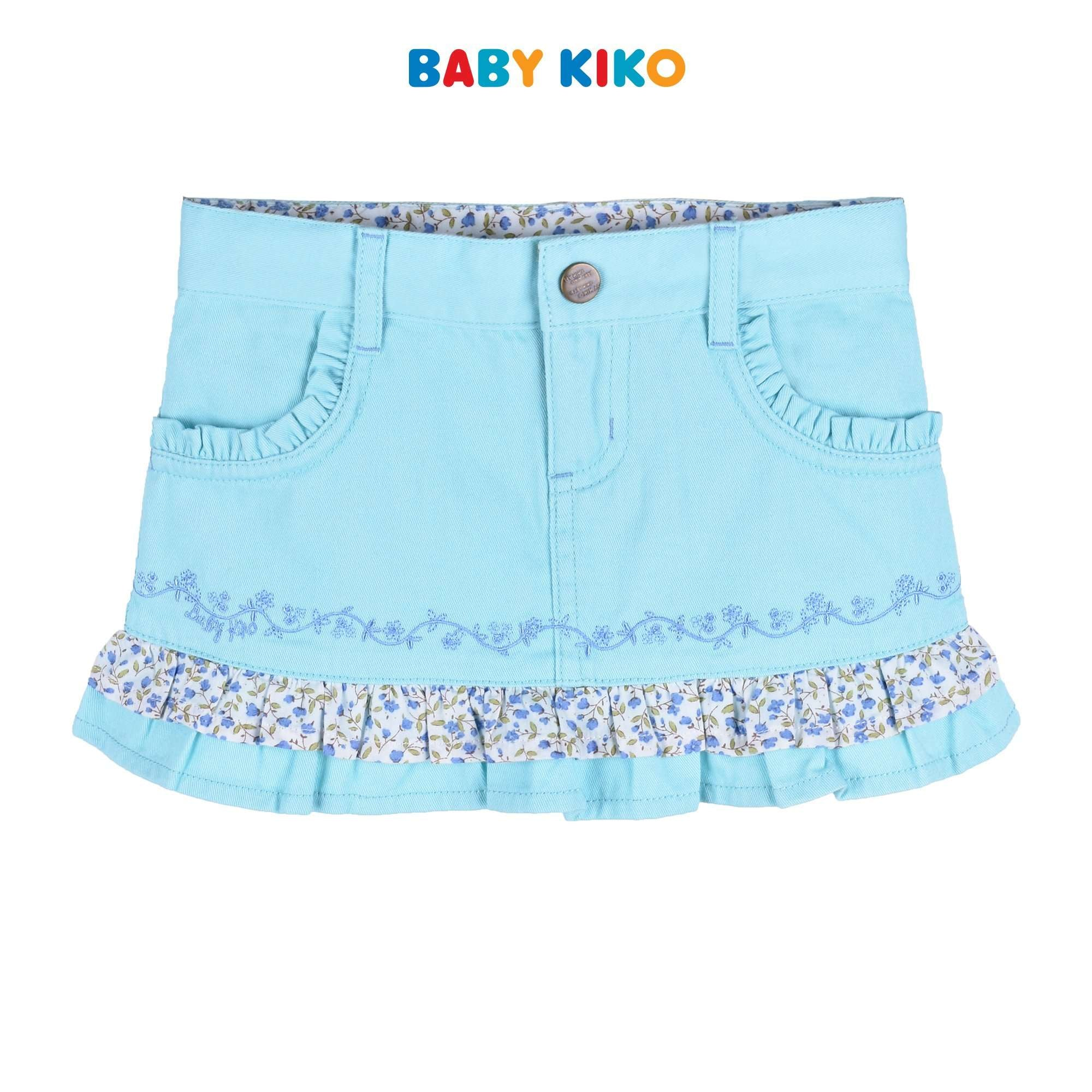 Baby KIKO Toddler Girl Short Skirt - Turquoise 335095-262 : Buy Baby KIKO online at CMG.MY