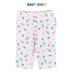 Baby KIKO Toddler Girl Short Sleeve Bermuda Suit - Peach 325158-401 : Buy Baby KIKO online at CMG.MY