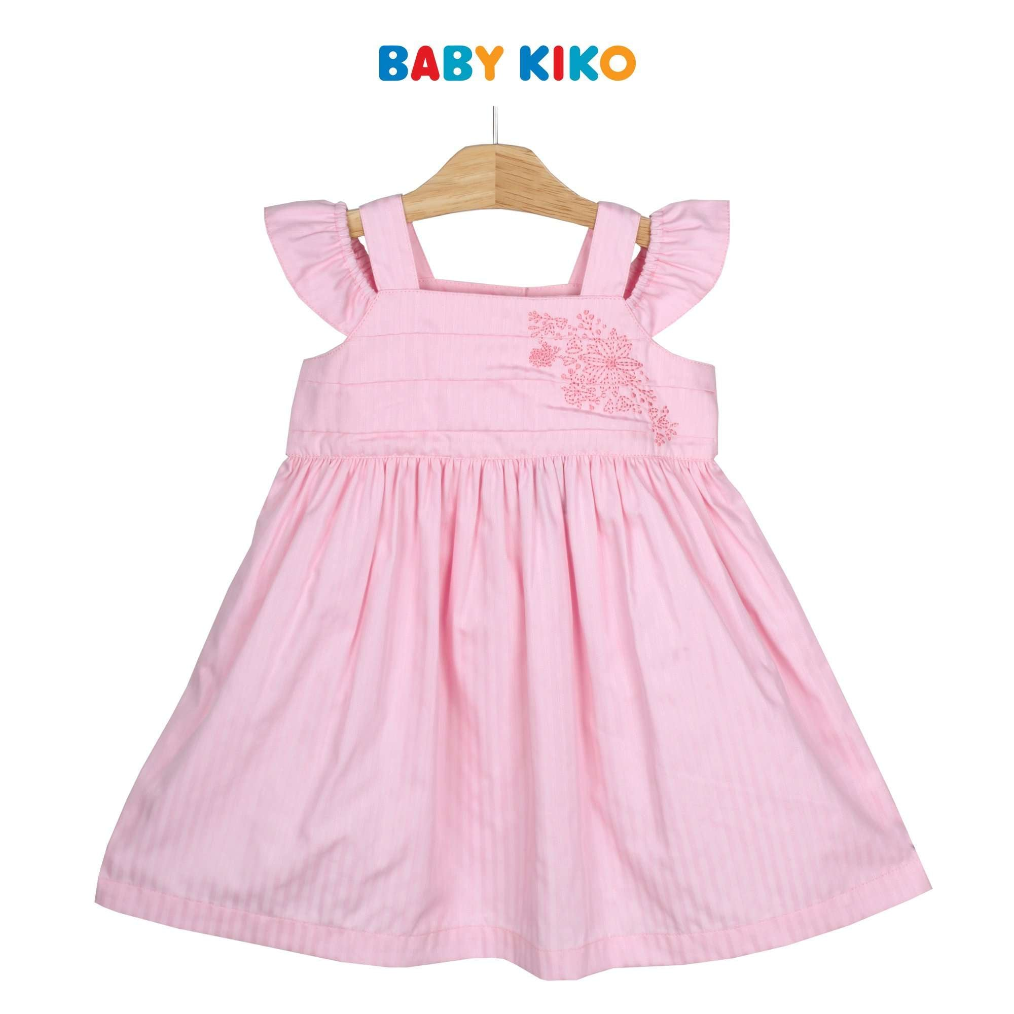 Baby KIKO Toddler Girl Short Sleeve Dress - Pink 315142-312 : Buy Baby KIKO online at CMG.MY