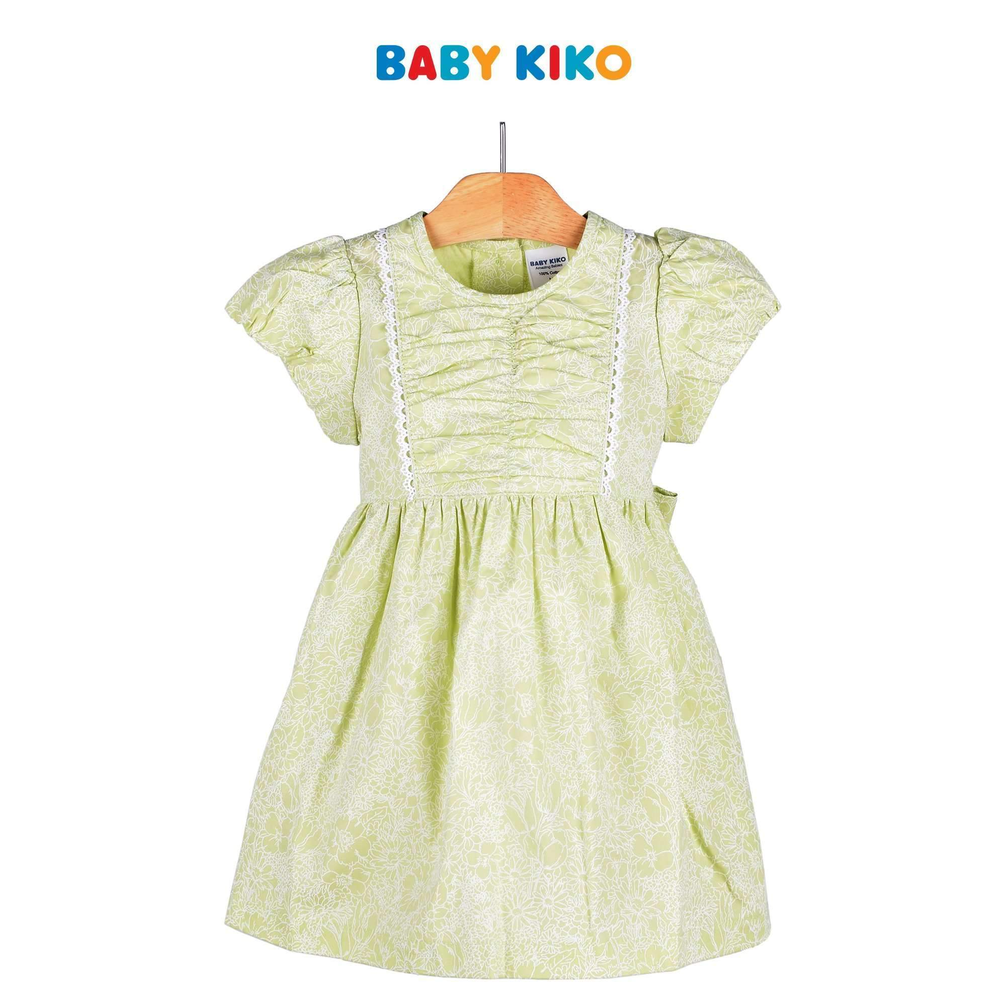 Baby KIKO Toddler Girl Short Sleeve Dress 315072-312 : Buy Baby KIKO online at CMG.MY