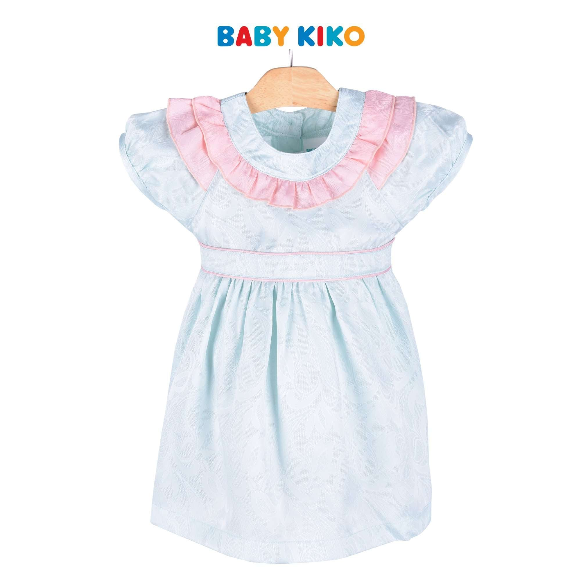 Baby KIKO Toddler Girl Short Sleeve Dress - Blue 315090-312 : Buy Baby KIKO online at CMG.MY