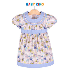 Baby KIKO Toddler Girl Short Sleeve Dress - Sirocco 315128-312 : Buy Baby KIKO online at CMG.MY