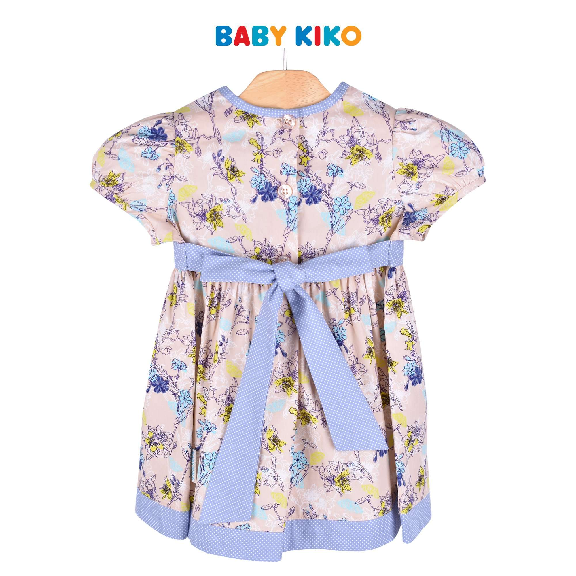 Baby KIKO Toddler Girl Short Sleeve Dress Sirocco 315128-312 : Buy Baby KIKO online at CMG.MY
