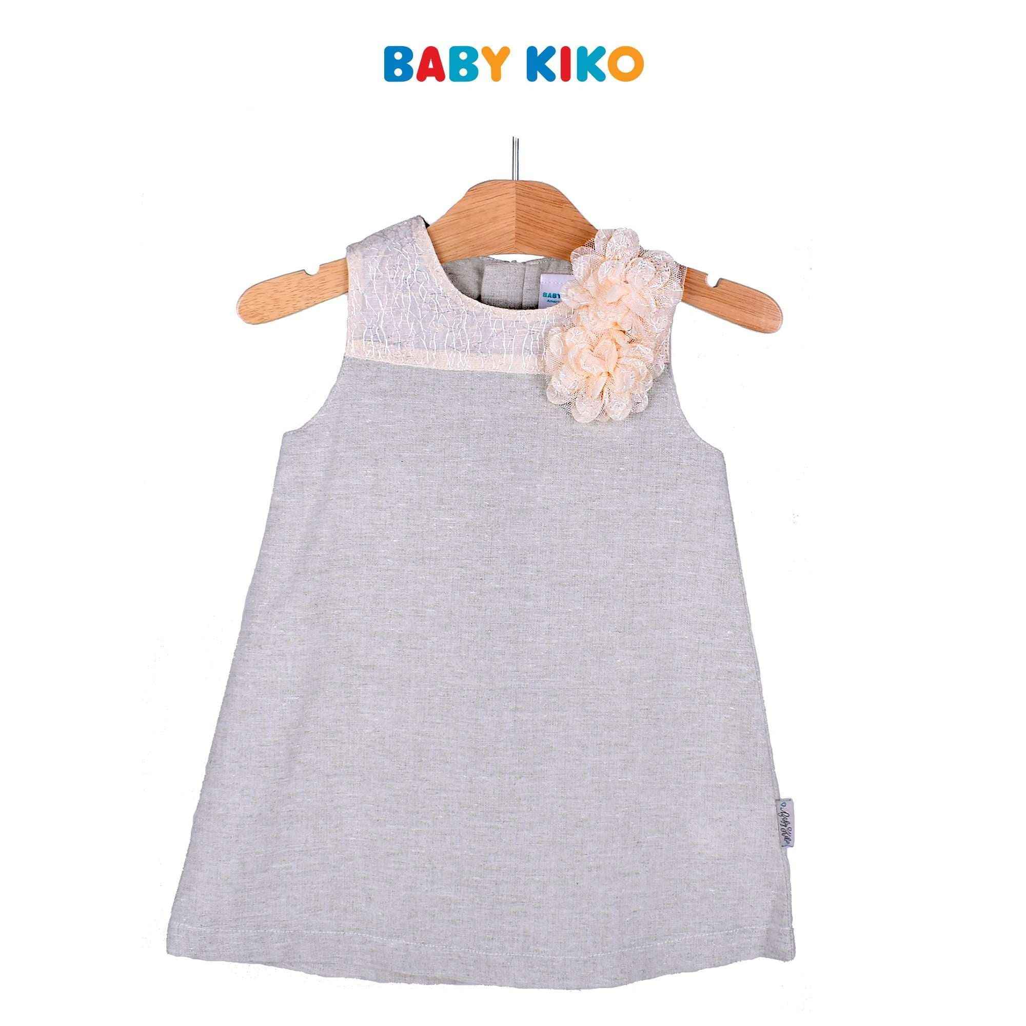 Baby KIKO Toddler Girl Sleeveless Dress - Beige 315140-311 : Buy Baby KIKO online at CMG.MY