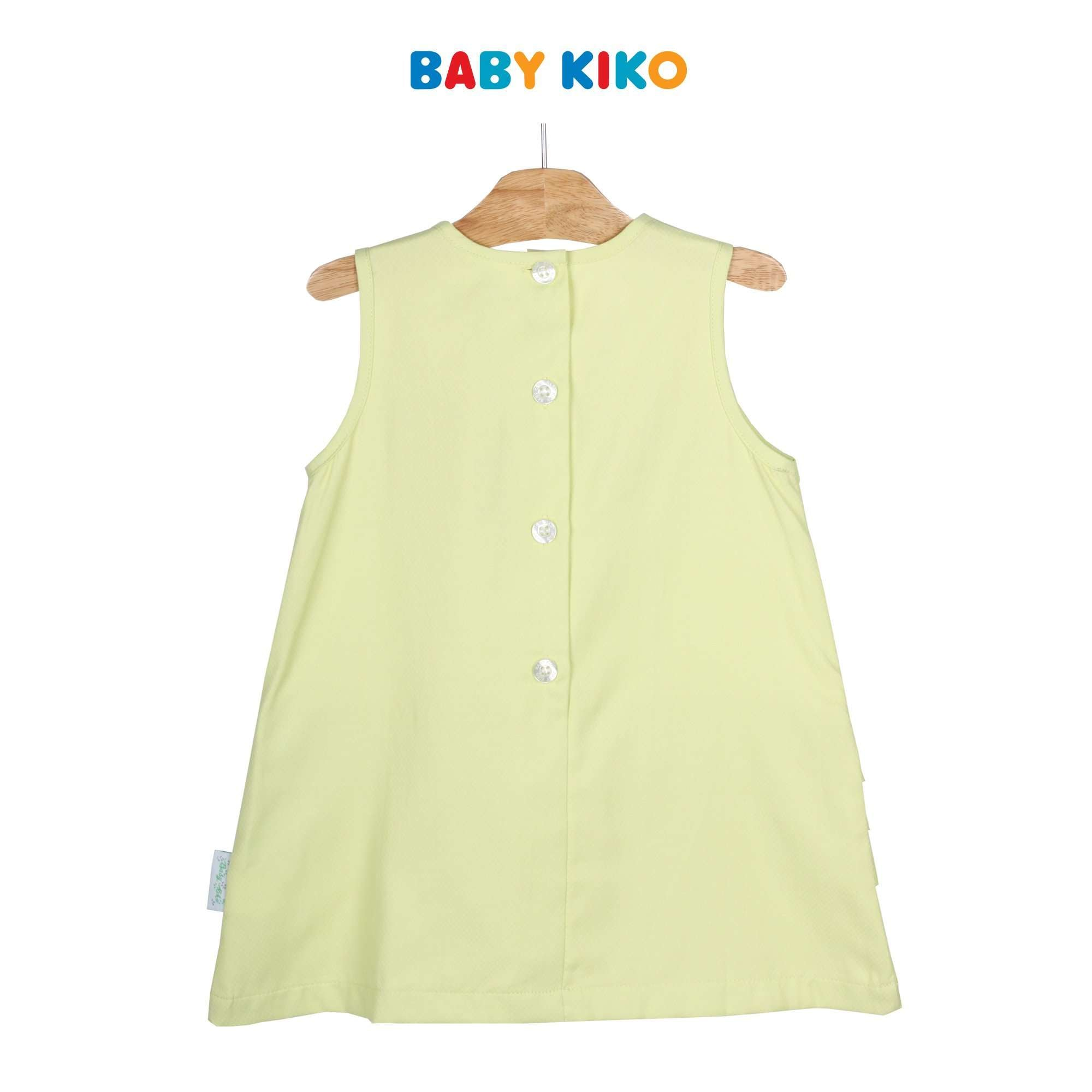 Baby KIKO Toddler Girl Sleeveless Dress - Green 315139-311 : Buy Baby KIKO online at CMG.MY