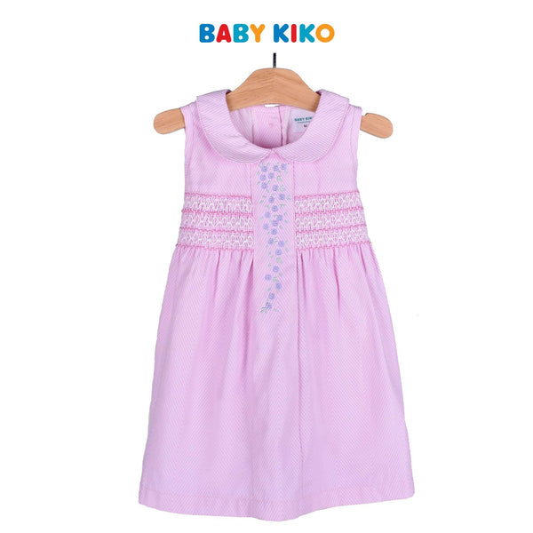 Baby KIKO Toddler Girl Sleeveless Dress - Pink 315069-311 : Buy Baby KIKO online at CMG.MY