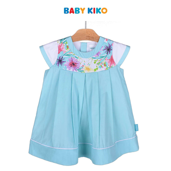Baby KIKO Toddler Girl Sleeveless Dress - Turquoise 315148-311 : Buy Baby KIKO online at CMG.MY