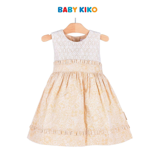 Baby KIKO Toddler Girl Sleeveless Dress 315070-311 : Buy Baby KIKO online at CMG.MY