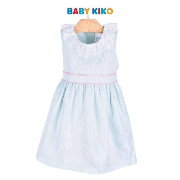 Baby KIKO Toddler Girl Sleeveless Dress Blue 315090-311 : Buy Baby KIKO online at CMG.MY