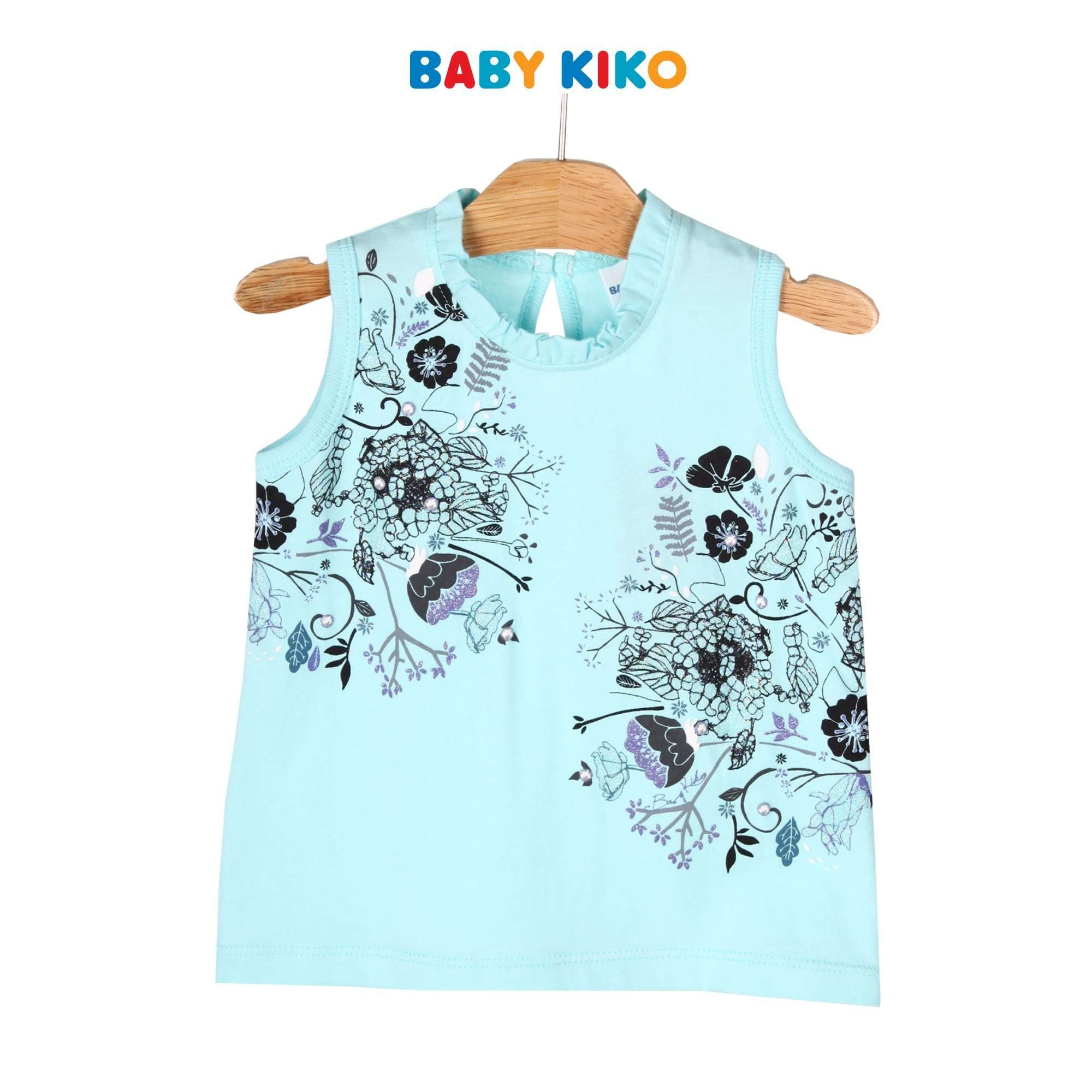 Baby KIKO Toddler Girl Sleeveless Tee 335131-101 : Buy Baby KIKO online at CMG.MY