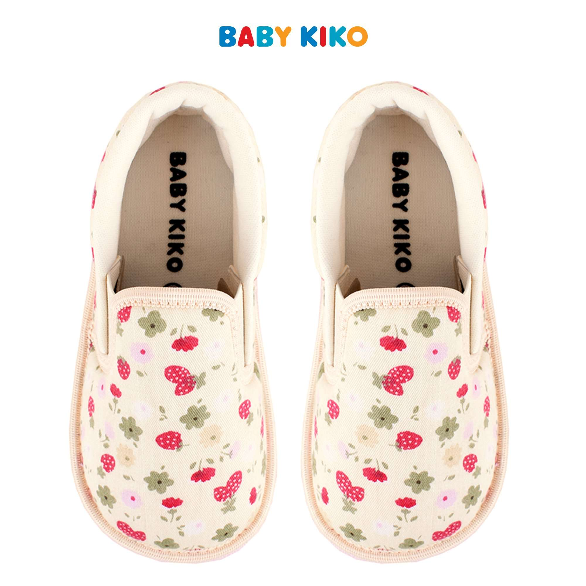 Baby KIKO Toddler Girl Textile Shoes - Beige B925106-5000-W9 : Buy Baby KIKO online at CMG.MY