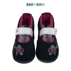 Baby KIKO Toddler Girl Textile Shoes - Black 315130-510 : Buy Baby KIKO online at CMG.MY