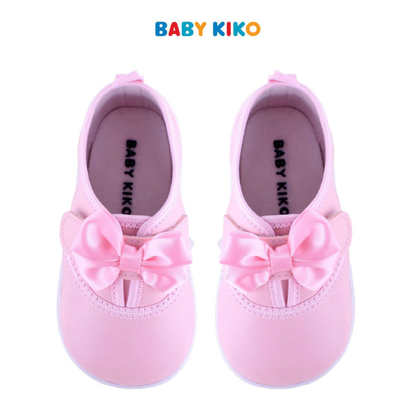 Baby KIKO Toddler Girl Textile Shoes - Pink B925106-5001-P5 : Buy Baby KIKO online at CMG.MY
