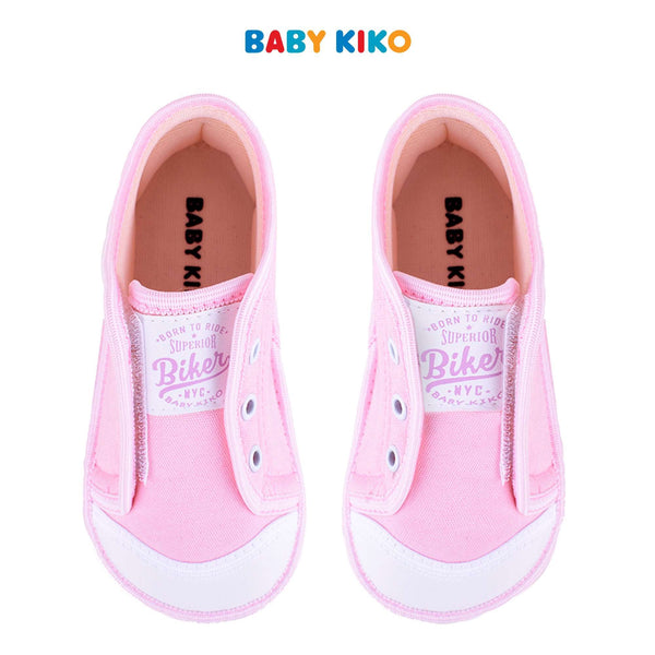 Baby KIKO Toddler Girl Textile Shoes - Pink B925106-5003-P5 : Buy Baby KIKO online at CMG.MY