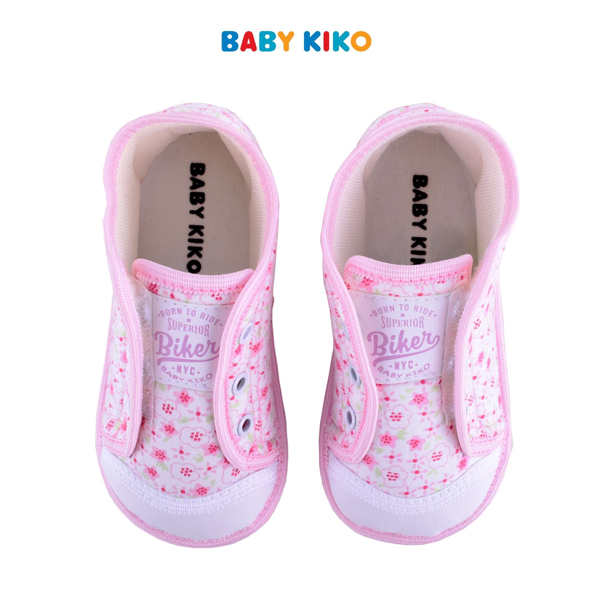 Baby KIKO Toddler Girl Textile Shoes - Pink B925106-5098-P5 : Buy Baby KIKO online at CMG.MY