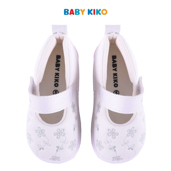 Baby KIKO Toddler Girl Textile Shoes - White B925106-5099-WO : Buy Baby KIKO online at CMG.MY