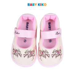 Baby KIKO Toddler Girl Textile Shoes - Yellow 315130-508 : Buy Baby KIKO online at CMG.MY