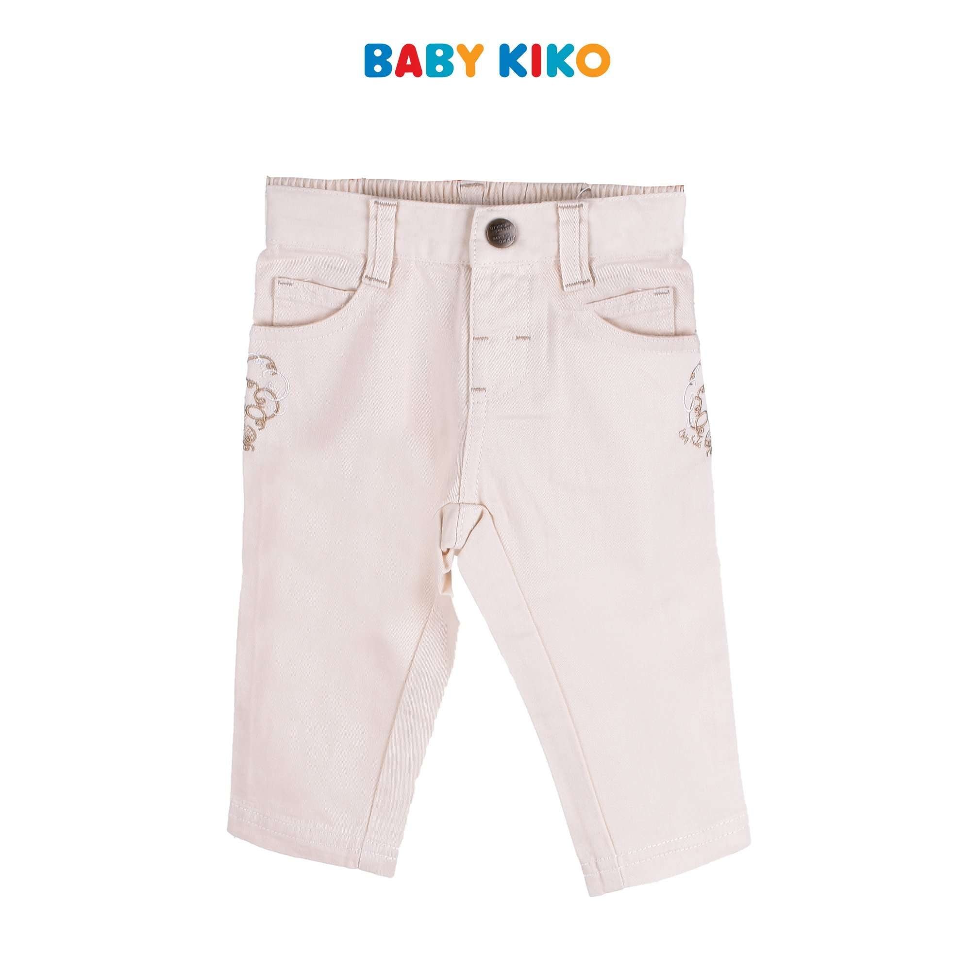 Baby KIKO Baby Girl Long Pants Woven - Khaki 330060-251 : Buy Baby KIKO online at CMG.MY
