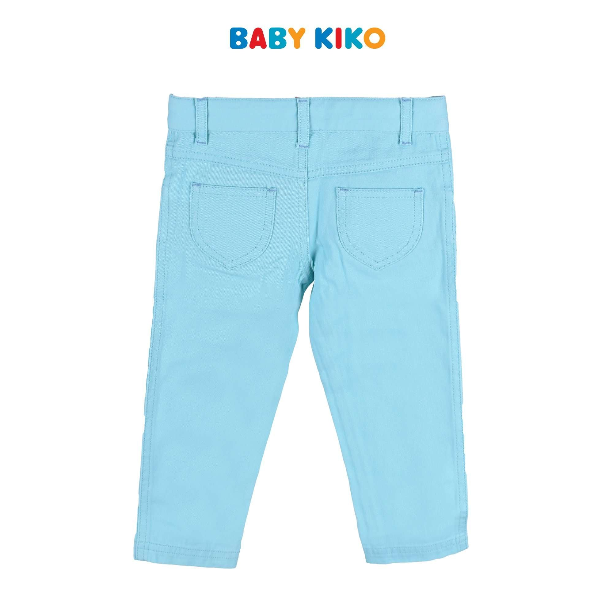 Baby KIKO Toddler Girl Long Pants Turquoise Woven 335095-252 : Buy Baby KIKO online at CMG.MY