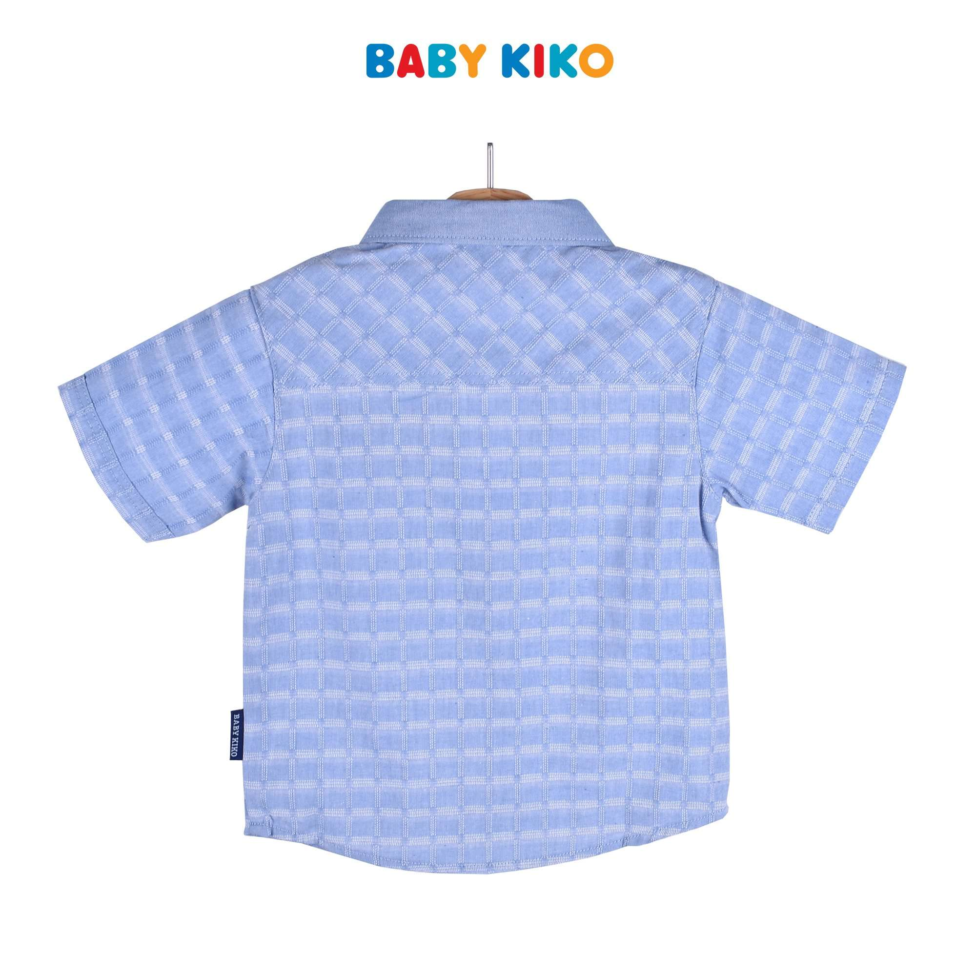 Baby KIKO Toddler Boy Short Sleeve Dress Navy Woven 315122-141 : Buy Baby KIKO online at CMG.MY