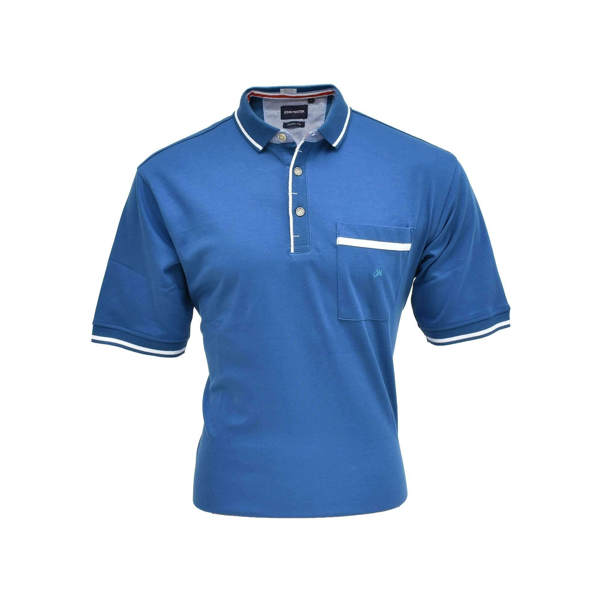 John Master Basic Polo Turquoise 8007000 : Buy John Master online at CMG.MY