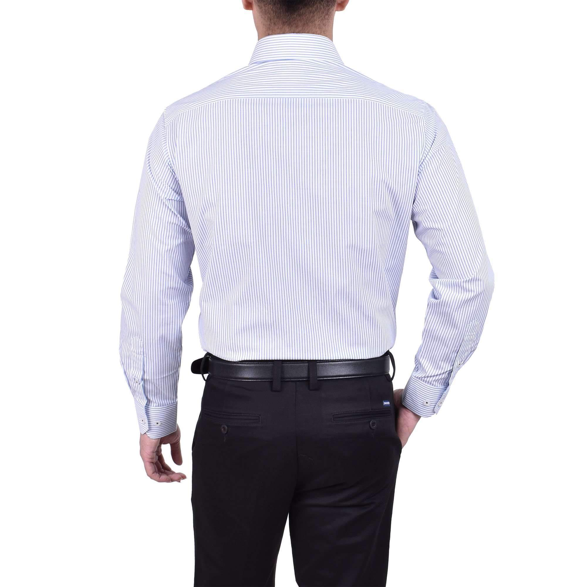 John Master Business Shirt Long Sleeve Light Blue 7087001 : Buy John Master online at CMG.MY