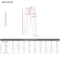John Master Casual Pants Infinite Khaki 4047000 : Buy John Master online at CMG.MY