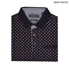 John Master Casual Tapered Short Sleeve Polo Tee - Black 8088000-G9 : Buy John Master online at CMG.MY