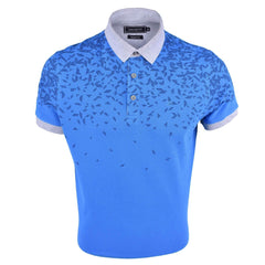 John Master Cotton Polo Tee Tapered Fit Blue 8087013 - L5 : Buy John Master online at CMG.MY
