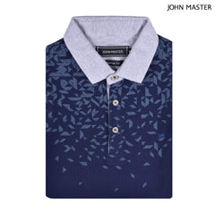 John Master Cotton Polo Tee Tapered Fit Navy 8087013 - L9 : Buy John Master online at CMG.MY