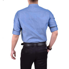 John Master Lifestyle Long Sleeve Shirt Blue 7057000 : Buy John Master online at CMG.MY