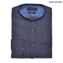 John Master Lifestyle Long Sleeve Shirt Dark Blue 7057000 : Buy John Master online at CMG.MY