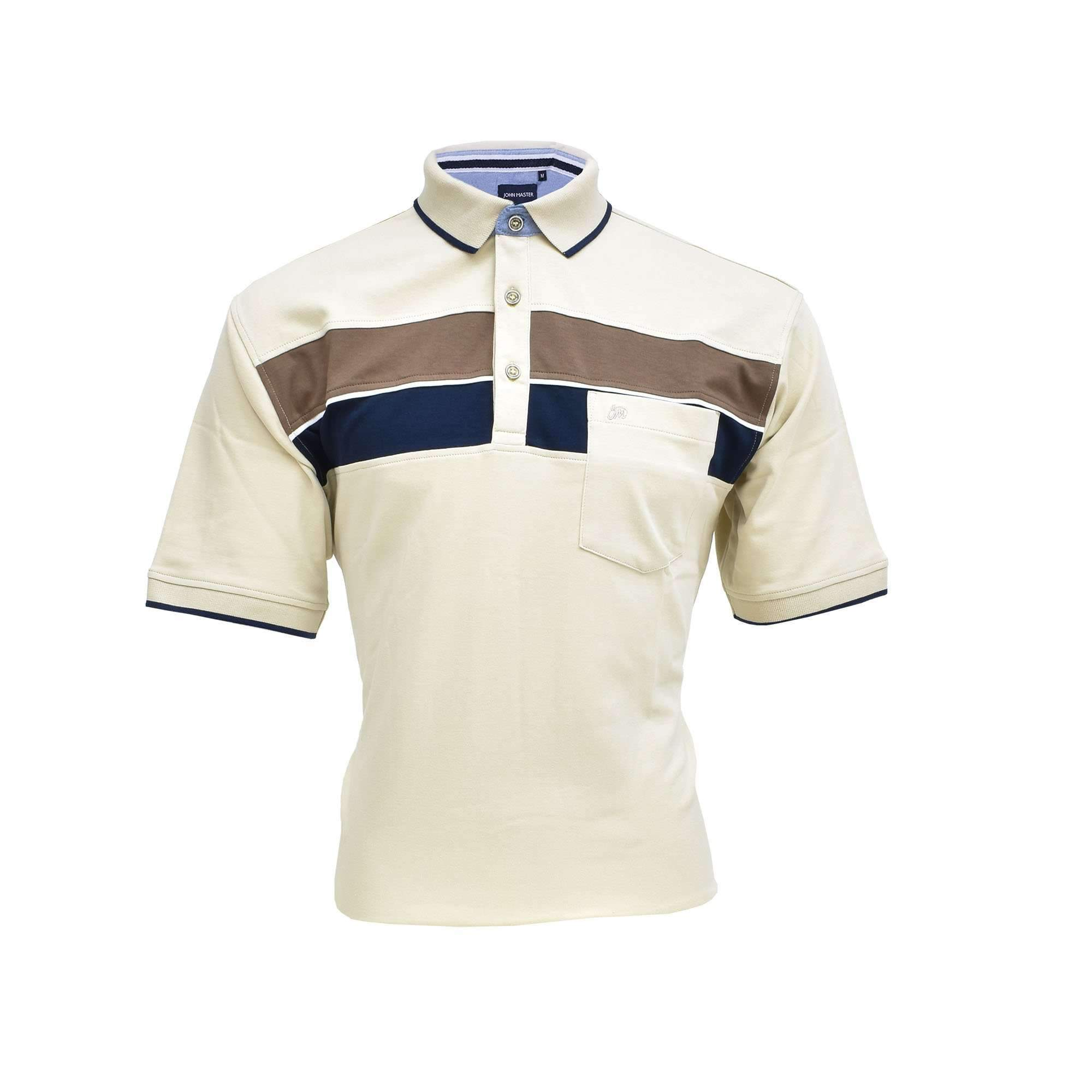 John Master Lifestyle Polo Khaki 8067000 : Buy John Master online at CMG.MY
