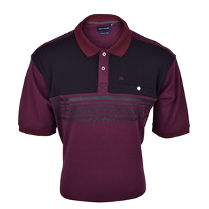 John Master Men Casual Regular Fit Polo Tee Red 8008002-R5 : Buy John Master online at CMG.MY