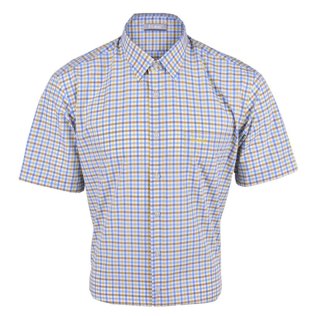 John Master Men Casual Regular Fit Shirt Blue 7147025-L5 : Buy John Master online at CMG.MY