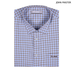 John Master Men Casual Regular Fit Shirt Grey 7147023-G5 : Buy John Master online at CMG.MY
