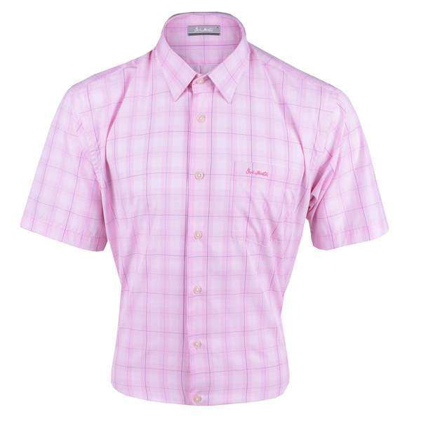 John Master Men Casual Regular Fit Shirt Pink 7147037-P5 : Buy John Master online at CMG.MY