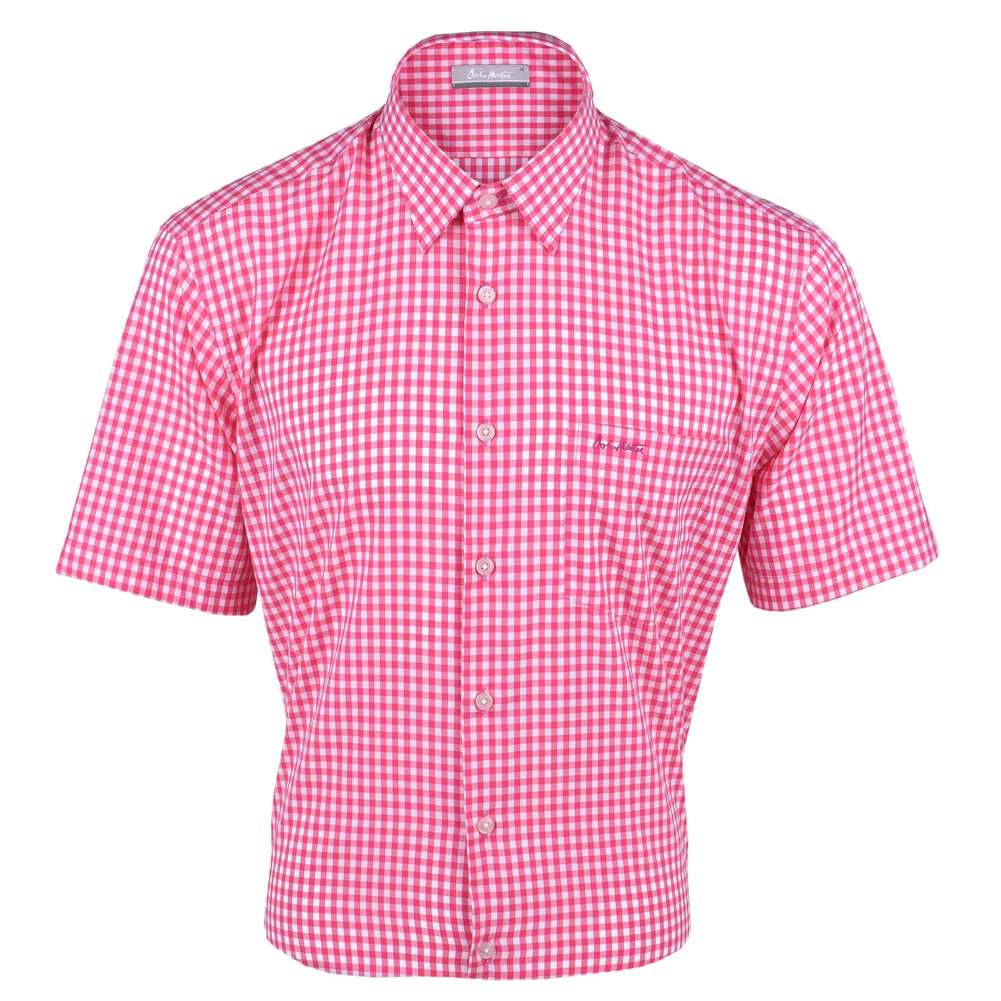 John Master Men Casual Regular Fit Shirt Red 7147022-R5 : Buy John Master online at CMG.MY