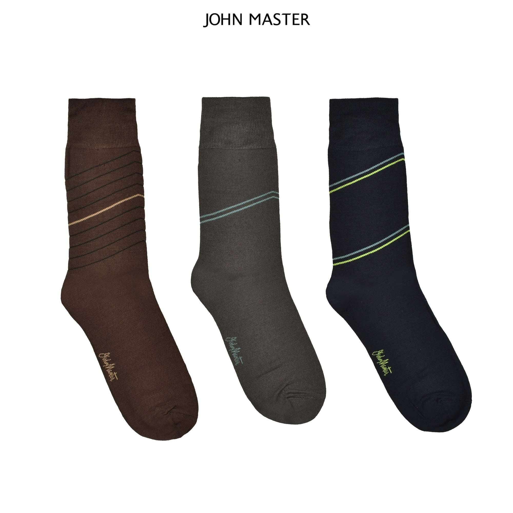 John Master Mercerized Spandex Socks 2053440 : Buy John Master online at CMG.MY