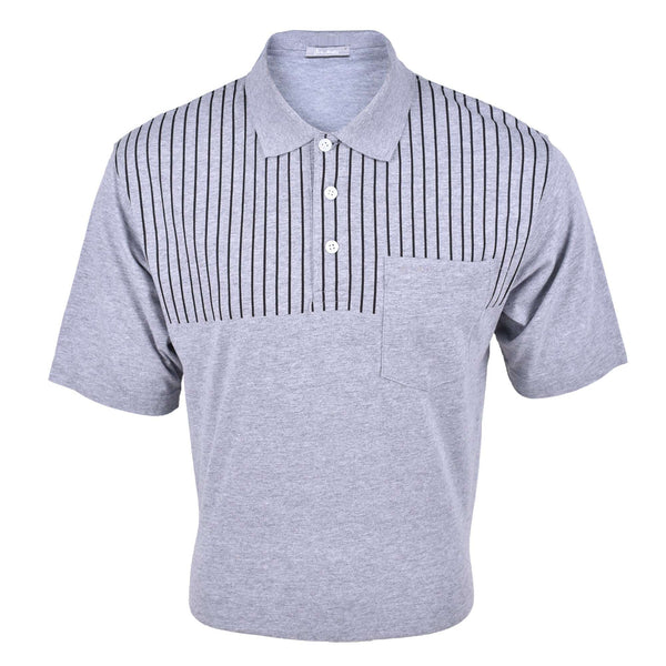 John Master Regular Fit Short Sleeve Polo Tee Grey 8128006-G8 : Buy John Master online at CMG.MY