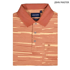 John Master Regular Fit Short Sleeve Polo Tee Yellow 8068003-Y5 : Buy John Master online at CMG.MY