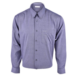 John Master Relax Fit Micro Fibre - Filafil Long Sleeve Shirt Dark Gray 7107003 : Buy John Master online at CMG.MY