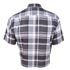 John Master Relax Fit Short Sleeve Shirt Grey 7147048-G9 : Buy John Master online at CMG.MY