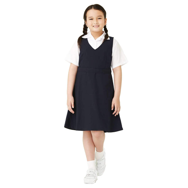 K-Primary Girl Pinafore School Uniform Primary - Navy 121034-27X : Buy K-Primary online at CMG.MY