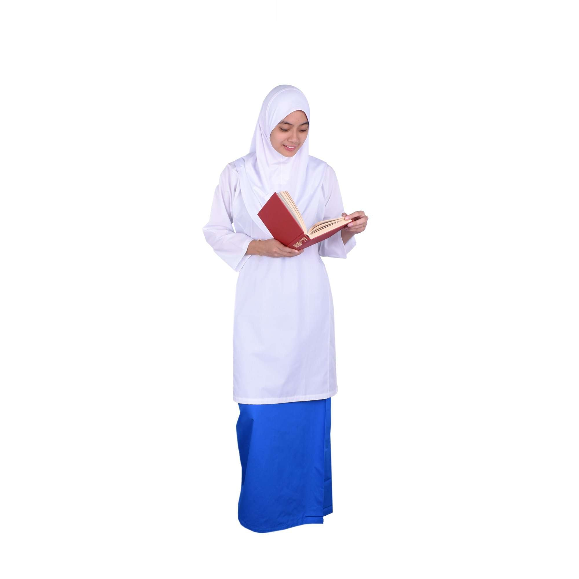 K-SECONDARY GIRL SCHOOL UNIFORM Long Skirt - BLUE X956109-2601-L5 : Buy K-Secondary online at CMG.MY