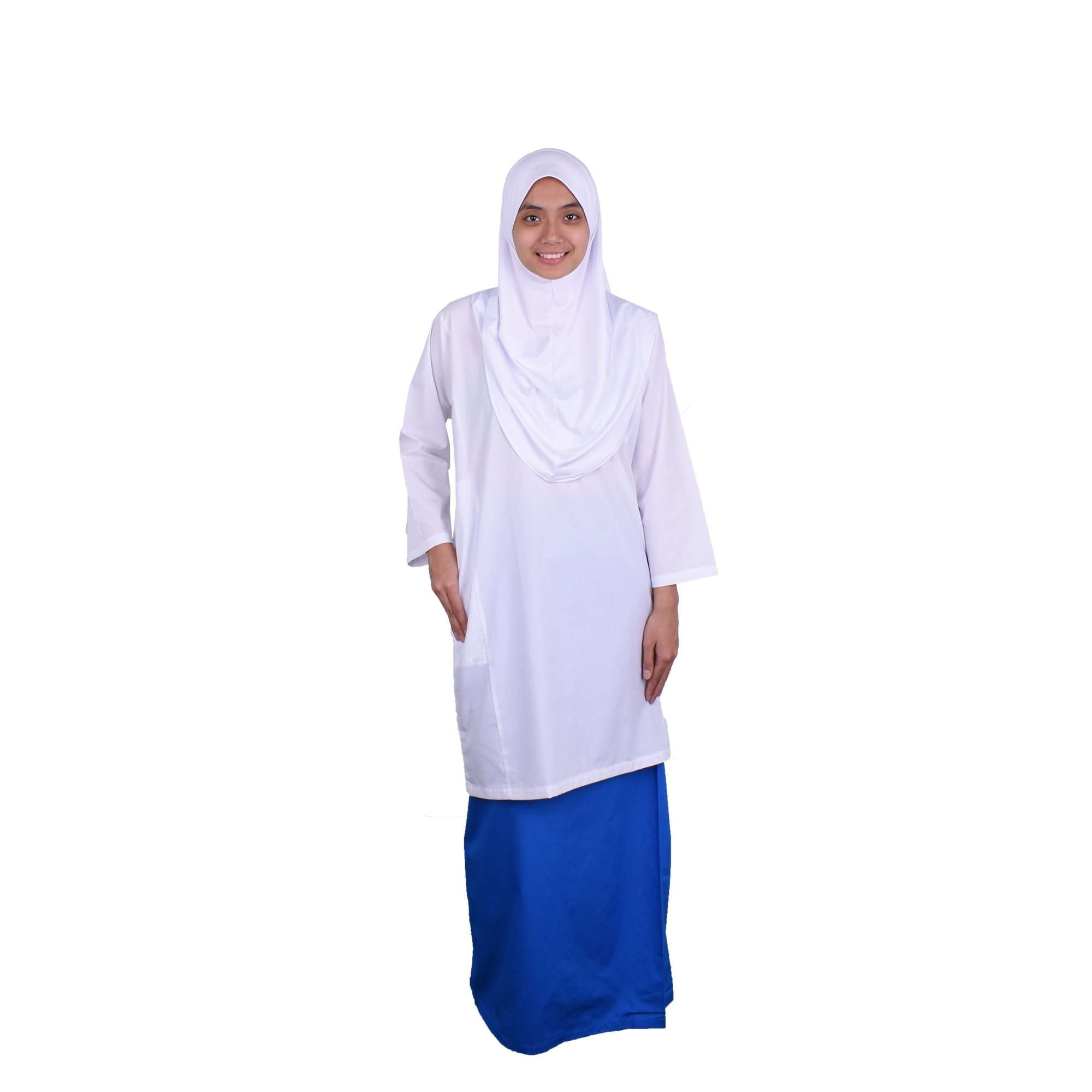 K-SECONDARY GIRL SCHOOL UNIFORM Long Sleeve Blouse - WHITE X956109-1501-W0 : Buy K-Secondary online at CMG.MY