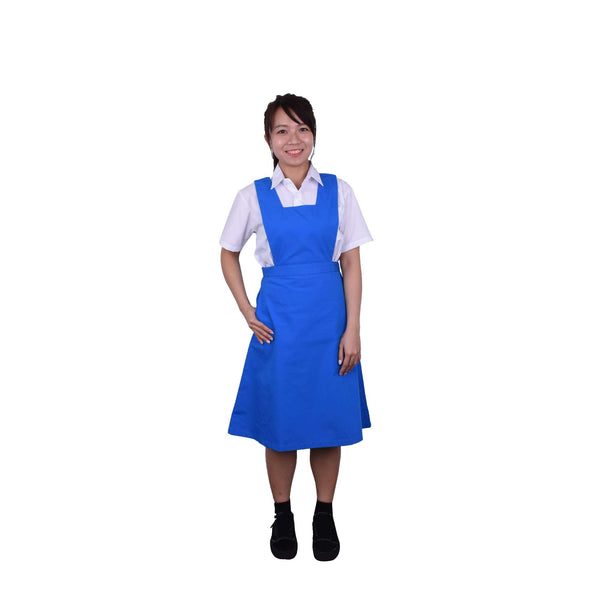 K-SECONDARY GIRL SCHOOL UNIFORM Pinafore - BLUE X956109-2701-L5 : Buy K-Secondary online at CMG.MY