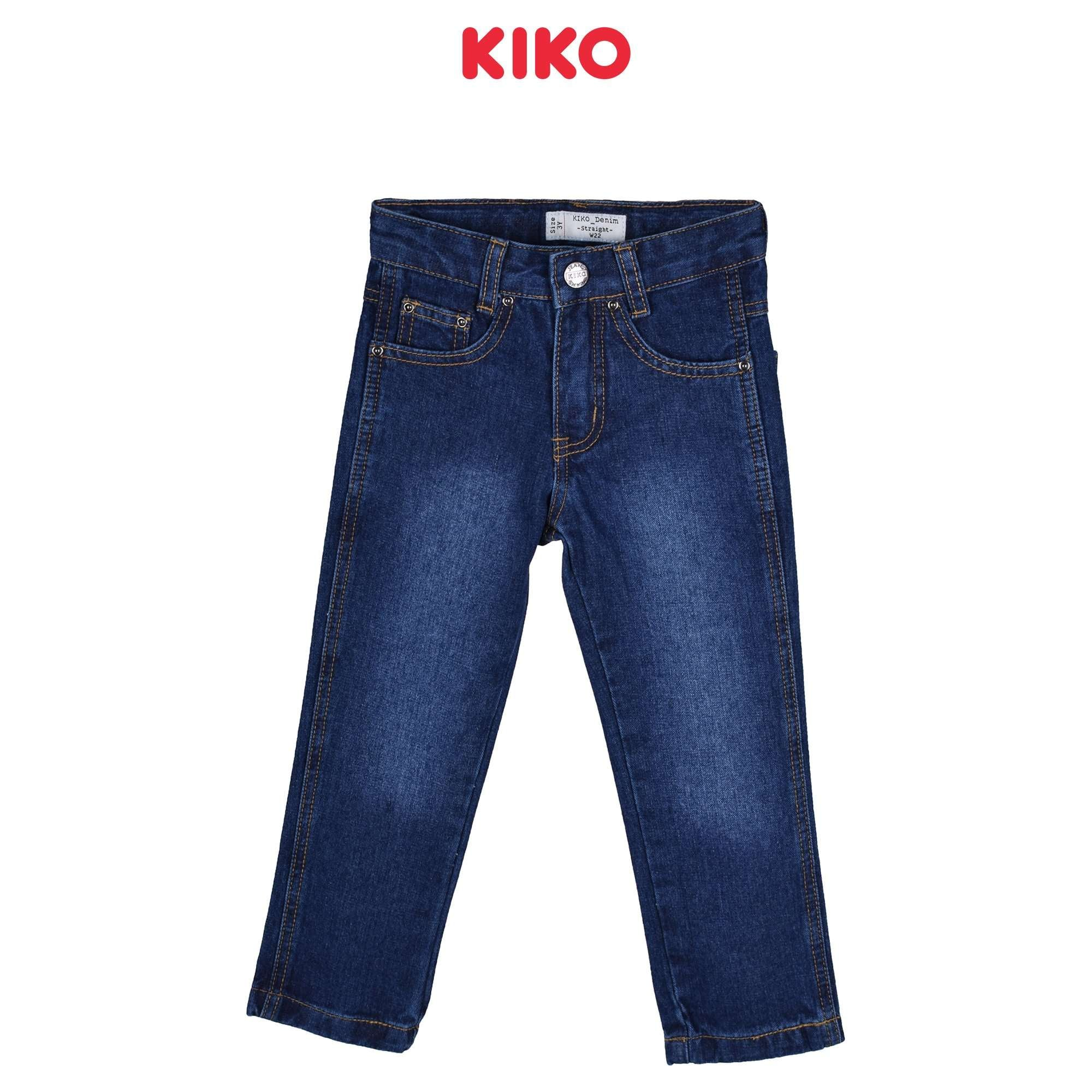KIKO Boy Jeans Straight Cut 130055-216-L5-03R : Buy KIKO online at CMG.MY